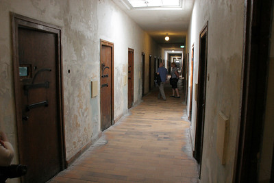 """Inside the """"bunker"""", the cell block for special prisoners."""