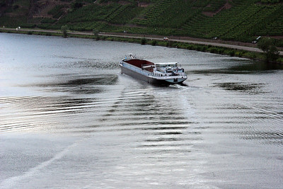Barging on the Mosel.