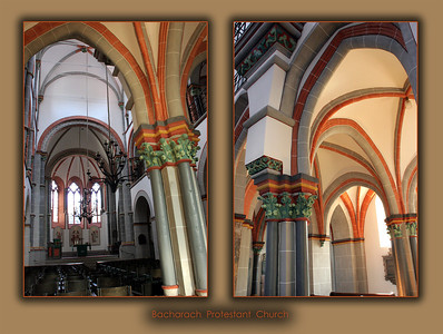 Interior, Bacharach Church.