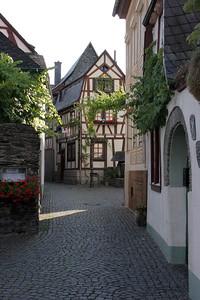 Town street, Bacharach.