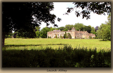 Lacock Abbey is where much of the first Harry Potter film was shot.