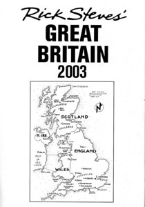 Our June, 2003 trip included southern and western England (Bath, Cotswolds, Warwick, Lake District), Wales (Conway), and Scotland (Oban and Edinburgh), and then back into England (York and London).