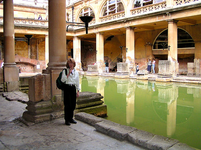 Roman baths, Bath.