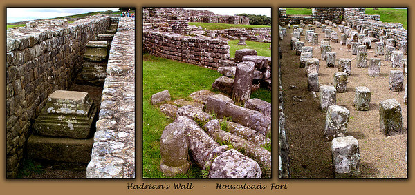 Details of Houstead's Fort on Hadrian's Wall.