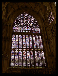 Yorkminster has Europe's largest single stained glass window.