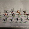 """<span style=""""color:yellow;""""> Churchill's boyhood toy soldier collection.  </span>"""