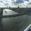 """<span style=""""color:yellow;""""> Looking up river and up-sun, past the Westminster area.  </span>"""