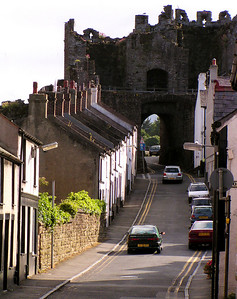 One of the town wall entry gates.