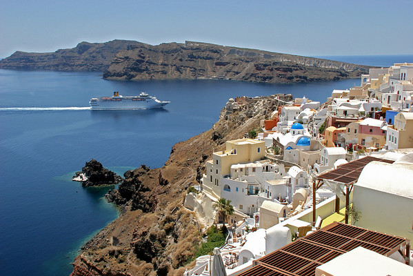 Greece - 6 - Santorini & Naxos Departure