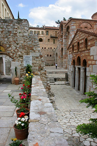 The monastery was build in 1011 by Emperor Romanos, extending an older church dating from 944 AD.