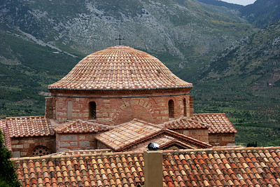 On our way to Delphi from Athens we visited the Monastery of Osios Loukas.  The site is dedicated to a local hermit and healer, known as Holy Luke.