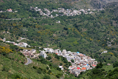 Like much of Greece, Naxos is rugged and mountainous.  Villages can be very remote.