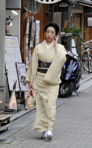 Traditional kimono.
