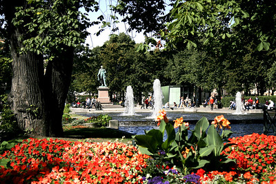 The central park of Oslo.