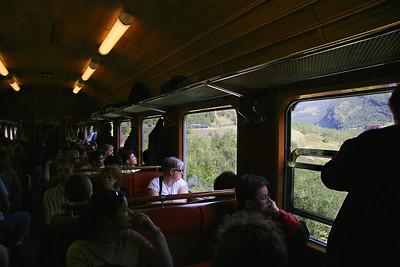 The Flaamsbana is the train from Myrdal to Flam.