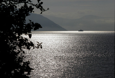 Early morning light on the Sognefjord.