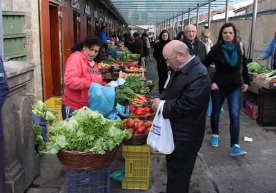 Market place, Santiago de Compostela.