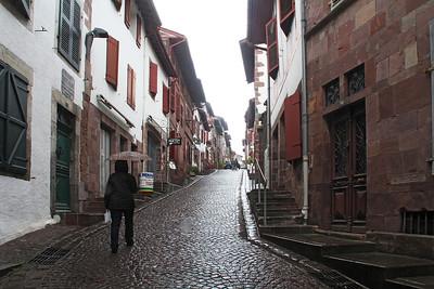Rue d'Espagne in St. Jean-Pied-de-Port.