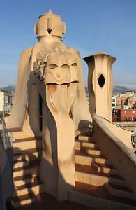 Casa Milà roof.