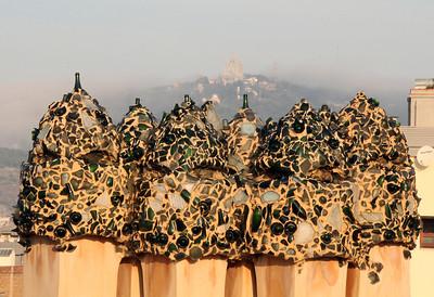 Vents, Casa Milà roof.