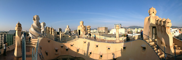 Another pano of the rooftop, this time captured with the iPhone panorama feature.