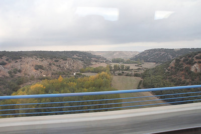 Sights along the way during the train ride.  Moving at speeds up to 225 m.p.h.