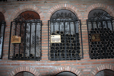 Some of Campillo's bottles are stored in private lots owned by organizations and individuals.  They only have to call to get some of their wine sent to them.