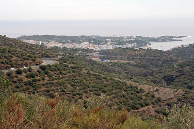 Approaching the town of Potlligat on the Costa Brava of Spain, not far from the French boarder.