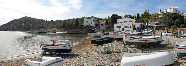 Portlligat harbor.