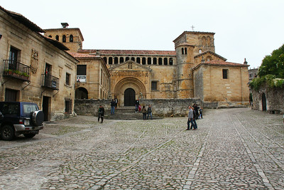One of two main town squares, this one with the Collegiata Santa Juliana, a church and apparently a convent.