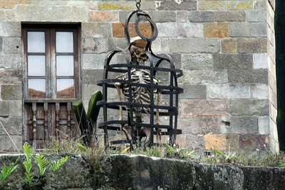 """Another tourist attraction was the """"Museum of Torture"""" ... we didn't go in!"""