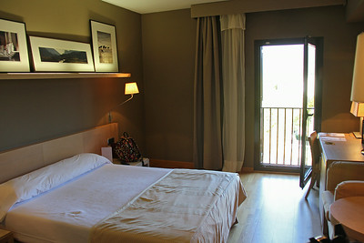 Our room at the Parador in La Seu D'Urgell, Spain.