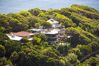 Houses at Byron Bay