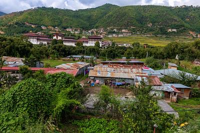 Thimphu Landscape