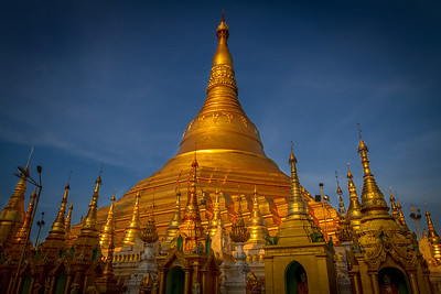 Shwedagon (Golden) Pagoda