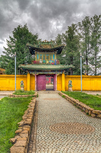 Gandantegchinlen Monastery (Built 1809)