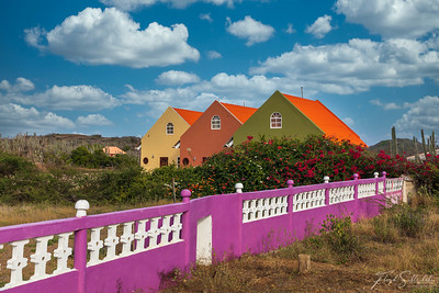 Curaçao's Colorful Houses