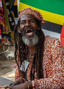 Reggae Musician