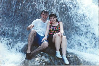 Dunns River Falls - Ocho Rios, Jamaica - 1995