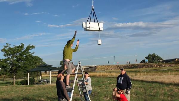 EOSS-210 Launch of NOAA Temperature Profiler