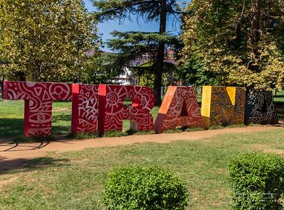 Tirana Sign
