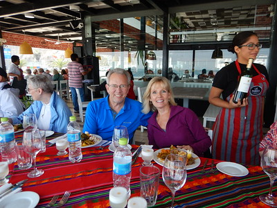 Percy tour of Lima-seafood lunch