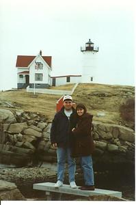 Cape Neddick Lighthouse - York, Maine - 1998