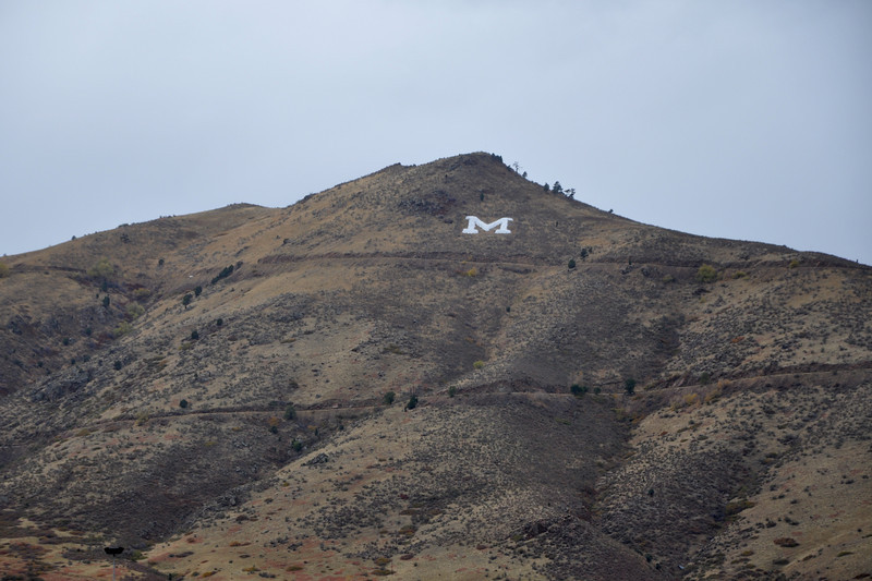 Golden is also home to Colorado School of Mines...must be their practice mountain.