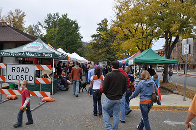 Boulder's Farmers' Market every Saturday.