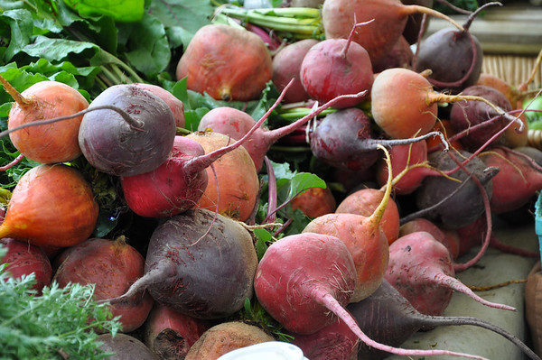 No, not radishes; beets.