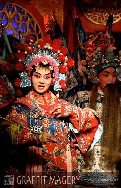 SICHUAN OPERA, CHENGDU CHINA 2010