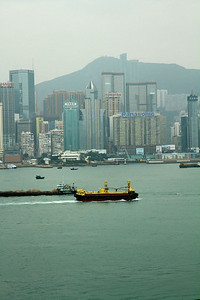 Taken from the Kowloon side of the harbor from our room window at the Intercontinental