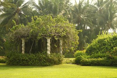 The grounds at the Rose Garden Resort, November 30 2012