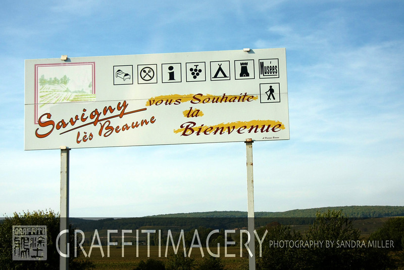 Driving from Paris to Beaune France 10/03